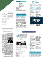 Boletim Igreja Cristã Evangélica Resgate 06 de abril 2014