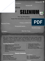 Test Automation Using Selenium 2 Days Karachi