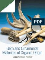 Gem and Ornamental Materials of Organic Origine