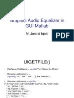 Matlab Audio Equalizer GUI