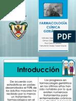Farmacología Clínica Geriátrica