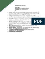 Format RPP Permendikbud 65-2013