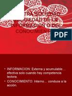 LECTURA Y SOCIEDAD DEL CONOCIMIENTO 2009