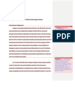 Assignment Two Draft (With Peer Review)