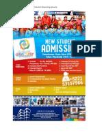 Penerimaan Siswa Baru Sekolah Boarding Jakarta