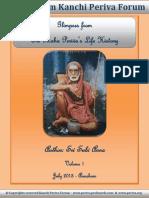 Kanchi Periva Forum - eBook on Sri Maha Periva's Life History - Volume 1