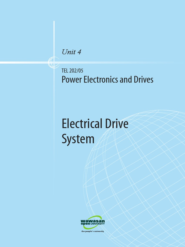 Power Electronics and Drives U4 | Electric Motor | Power Electronics