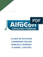 Plano de Estudo - Carreiras Fiscais - Alfacon