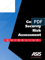ASIS General Security Risk Assessment