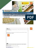 Perfil del Consumidor Ecológico en España 2014