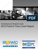 2013 Homeless Pit Count Report