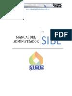 Manual SIBE Del Administrador