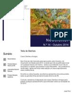 Newsletter CAMMP n.º 14 de Outubro de 2014