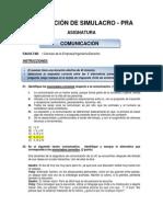 Evaluación de Simulacro 2014