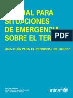 UNICEF Emergency Field Handbook SP