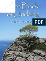 The Book of Undoing - Davis, Fred