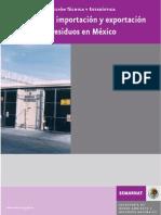 Guia Importacion y  Exportacion de Residuos Peligrosos  en Mexico