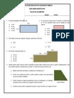 Taller de Geometría 4º (Perímetro, Área de Polígonos y Figuras Compuestas - 4to Periodo)