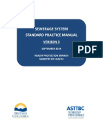 BC Sewerage System Standard Practice Manual