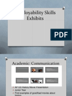 employability skills exhibits