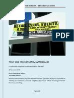 Past Due Process in Miami Beach