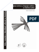 Paradigmas Teóricos y Lenguajes Estéticos en América Latina
