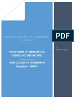 Data Structures LAB -C Programs
