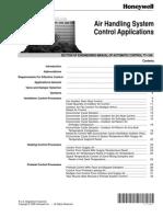 Air Handling System Control Fundamentals