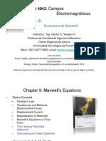 CEM4042 Cap 9 - Ecuaciones de Maxwell2014