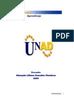 Modulo Aprendizaje 2011