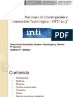 3 Bases de la II Feria Nacional INTI 2013.pptx