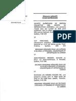COPIBEC v Laval Copyright Class Action Requete QSC
