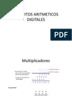 CIRCUITOS ARITMETICOS DIGITALES