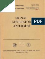 AN/URM-48 TM 11-1257