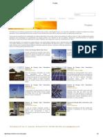 Projetos fotovoltaico