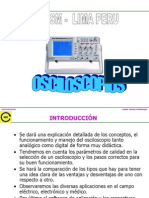 Osciloscopios Analogicos y Digitales PATRON HM