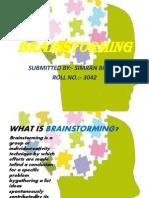 Brainstorming s