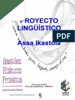 PROYECTO LINGÜÍSTICO de Assa Ikastola