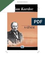 A Genese - Allan Kardec