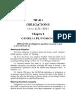 De Leon - Comments & Cases Obligation and Contracts