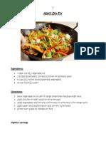 fall 2014 recipe book