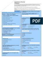 A document to survey