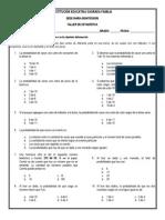 Taller de Estadística 4º (Probabilidad, Patrón de Cambio - 4to Periodo)
