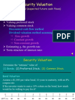 FIN4414 Security Valuation 001
