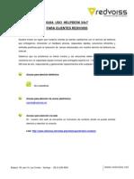 Guía de Escalamiento Redvoiss v1 07