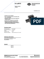 HS GB 3109 PQ 12 Drive Electronics