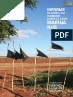 INFORME DE DERECHOS HUMANOS SOBRE EL CASO MARINA KUE - CODEHUPY - PORTALGUARANI