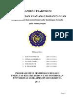 Laporan Praktikum Formalin 1