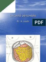 la cavité péritonéale
