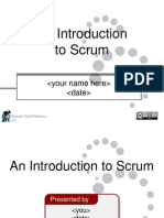 Re Distributable Intro to Scrum